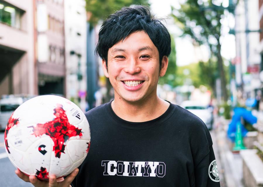 ボールひとつで、渋谷からポジティブな革命を起こす。 / SHIBUYA CITY FC 小泉翔